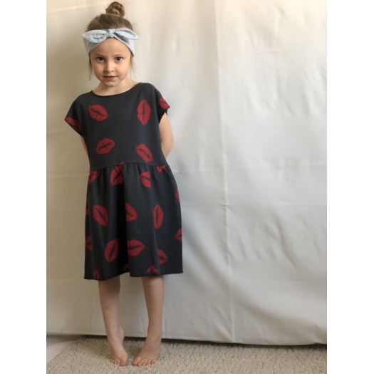 Kissed Jersey Dress