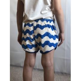 NE&ZOE Shorts Frotté